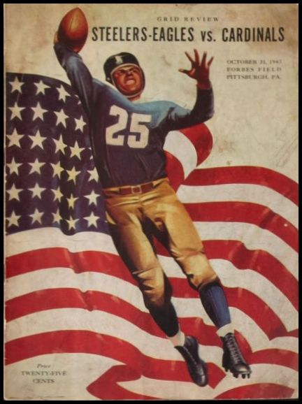 1943 Pittsburgh Steelers-Eagles