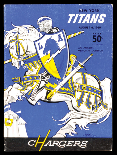 1960 Los Angeles Chargers 1