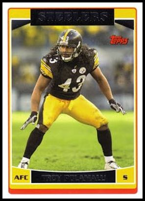 16 Troy Polamalu