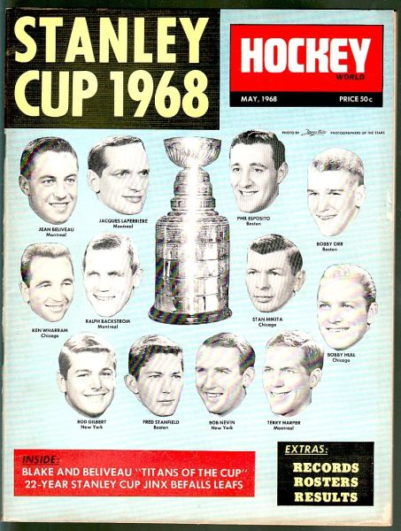 1968 05 Stanley Cup 1968
