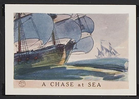 A Chase At Sea