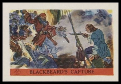 Blackbeard's Capture