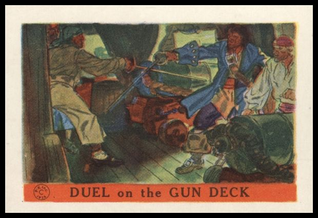Duel on the Gun Deck