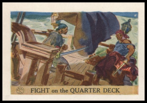 Fight On The Quarter Deck