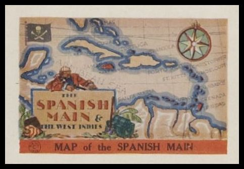 Map of the Spanish Main