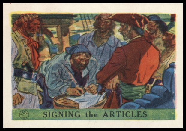 Signing The Articles