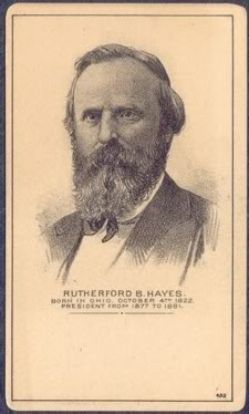 19 Rutherford B Hayes