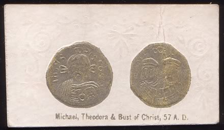 50 Michael Theodora and Bust of Christ