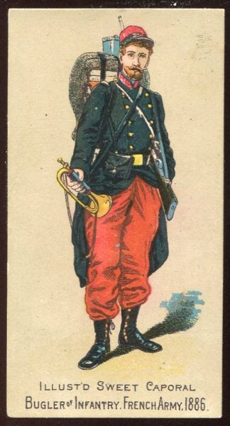 Bugler of Infantry French Army 1886