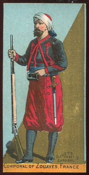 Corporal of Zouaves France