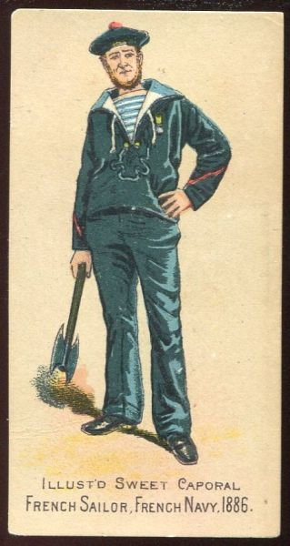 French Sailor French Navy 1886