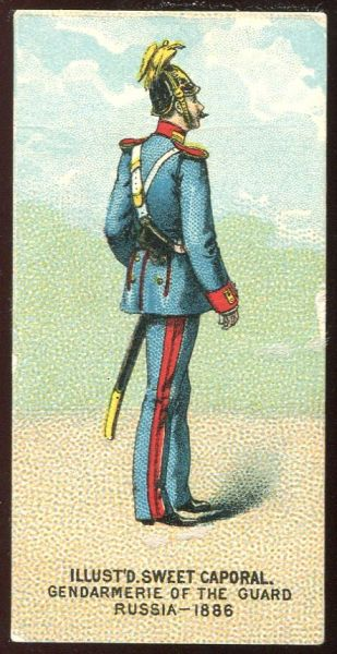 Gendarmerie of the Guard Russia 1886