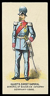 General of Bavarian Infantry Germany