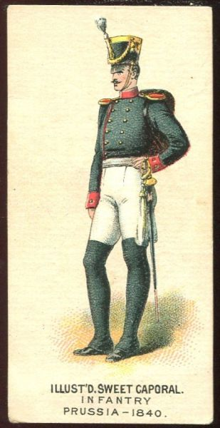 Infantry Prussia 1840