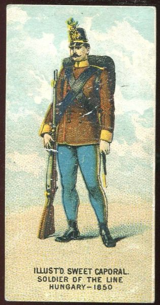 Soldier of the Line Hungary 1850