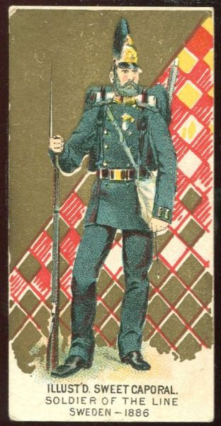 Soldier of the Line Sweden 1886