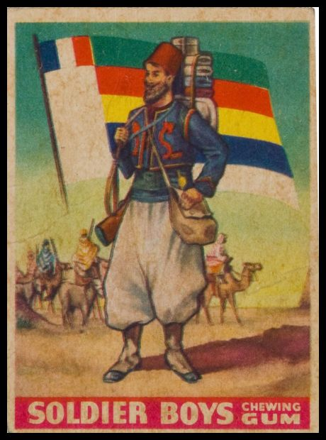 18 French African Zouaves